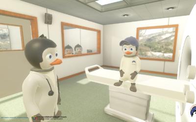 Der Pingunauten Trainer – Eine spielerische VR App für Kinder zur Vorbereitung auf das MRT